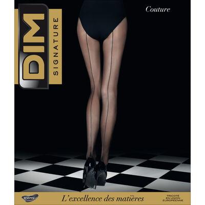 Collant noir DIM SIGNATURE Couture 20D, , DIM