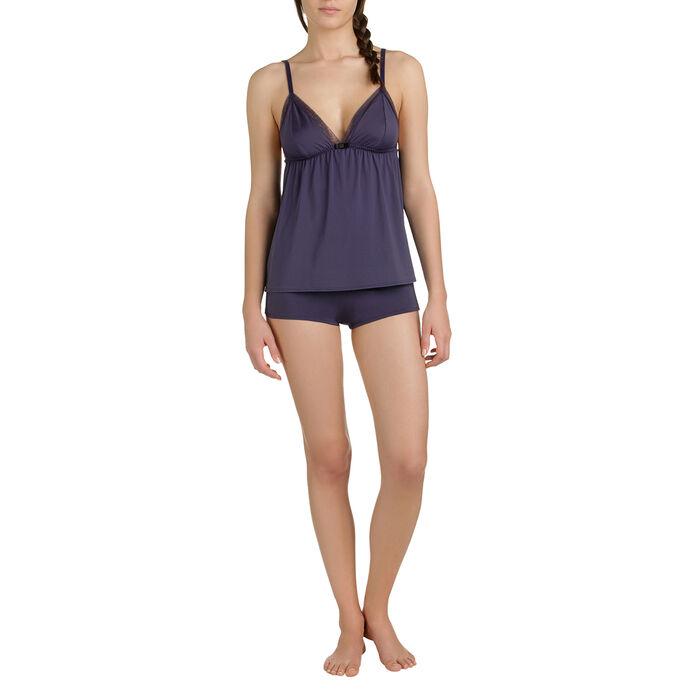 Caraco de pyjama bleu turquin Femme-DIM