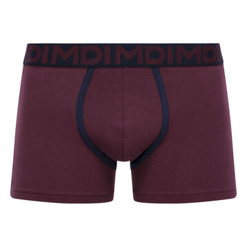Boxer Mauve Vigne en coton stretch pour homme Mix & Fancy, , DIM