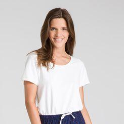 Pantalon de nuit bleu matelot Soft & Cool-DIM