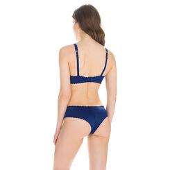Hipster bleu encre Body Touch invisibilité totale-DIM