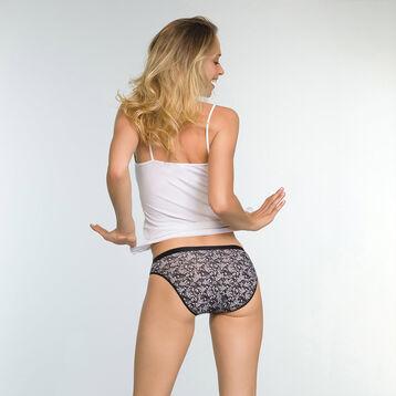 Lot de 3 culottes en coton Imprimé Hiver Noir Les Pockets, , DIM