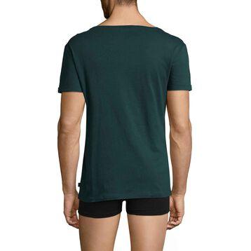 Tee-shirt à manches courtes vert ardoise Mix & Match-DIM