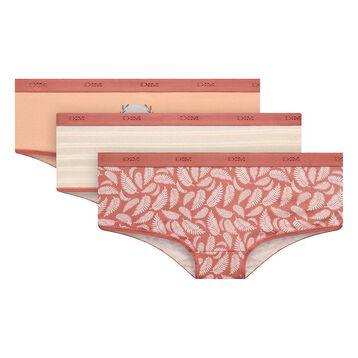 Lot de 3 boxers Antique - Les Pockets Coton Stretch, , DIM