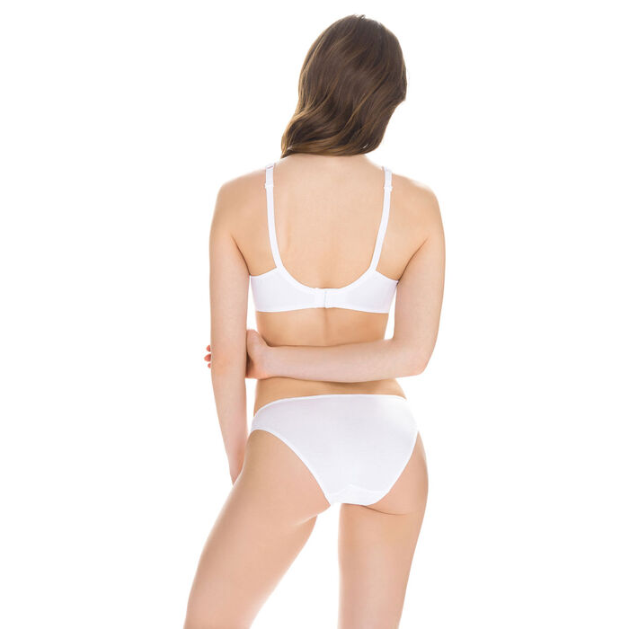 Slip blanc EcoDIM Confort en coton, , DIM