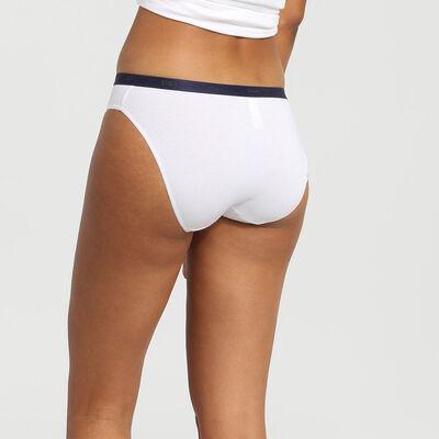 Lot de 3 culottes en coton stretch imprimé polaire Les Pockets Coton, , DIM