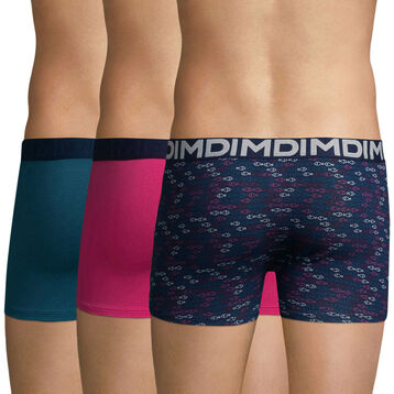 Lot de 2 boxers imprimé poissons MIX & FUN-DIM