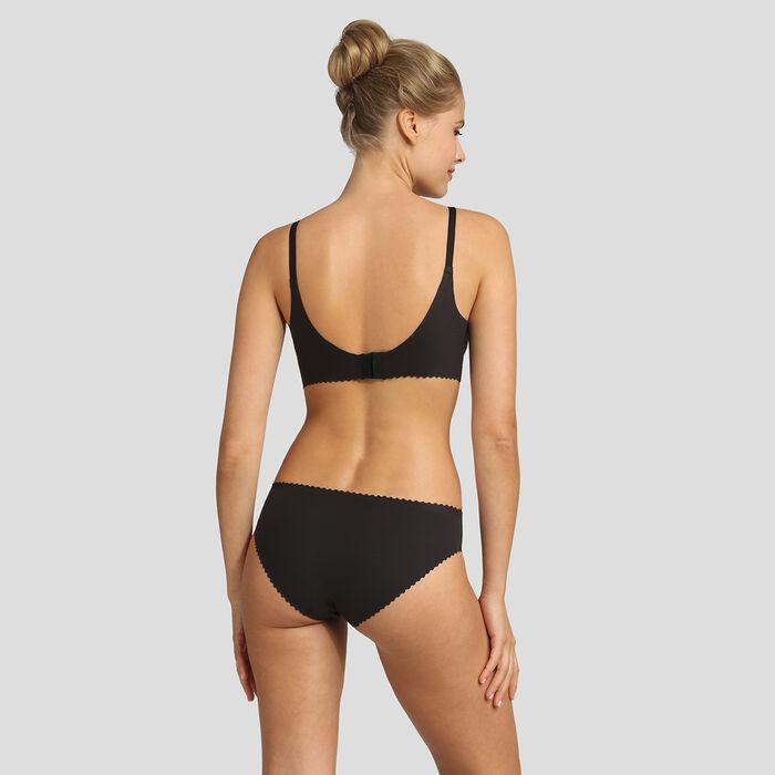 Soutien-gorge triangle sans armatures noir New Body Touch Libre de Dim, , DIM