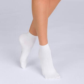 Lot de 2 socquettes Coton Skin Femme-DIM
