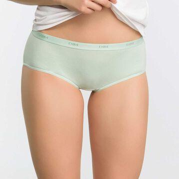 Lot de 3 boxers Femme vert opale, bleu antique et blanc - Ecodim, , DIM