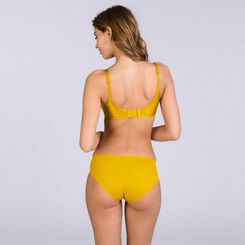 Culotte jaune Beauty Lift invisibilité totale-DIM