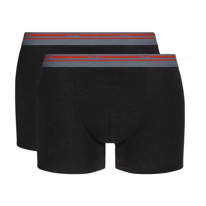 Lot de 2 boxers noirs Daily Colors, , DIM