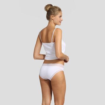 Lot de 2 culottes blanches et skin rose Sexy Fashion de Dim, , DIM