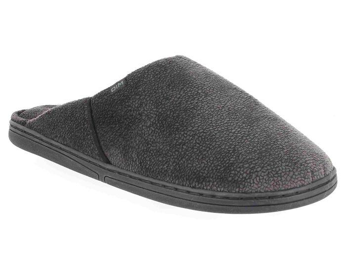 Chaussons type pantoufles marrons Homme-DIM