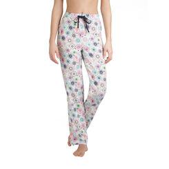 Pantalon de pyjama blanc imprimé spirales Femme-DIM