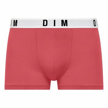 Boxer rouge berry en coton et modal Dim Originals, , DIM