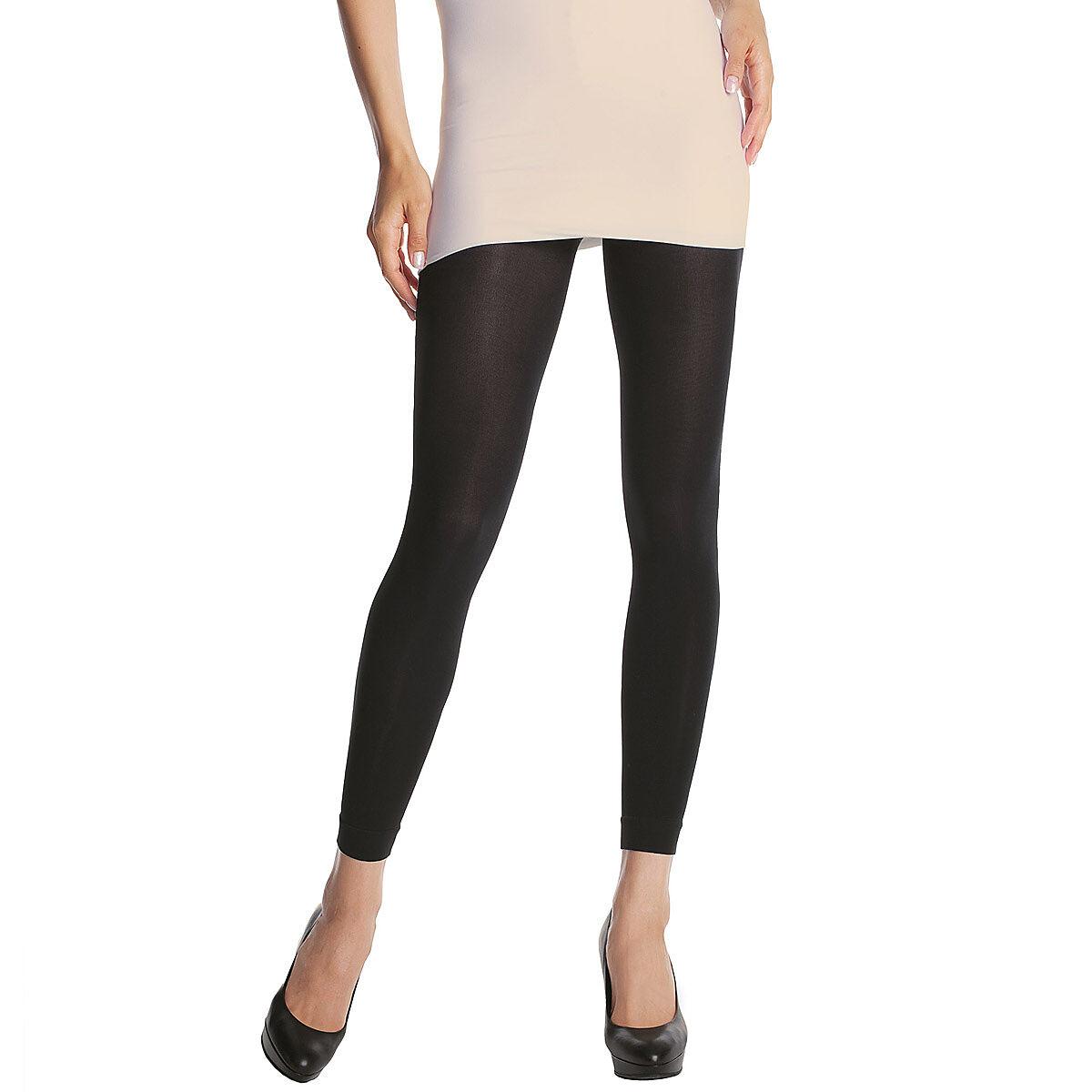 Legging noir DIM SIGNATURE Opaque Velouté 60D