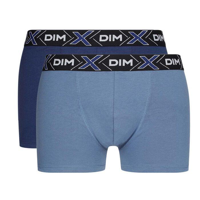 Lot de 2 boxers X-Temp Bleu Jean, Bleu Eclipse en coton stretch, , DIM