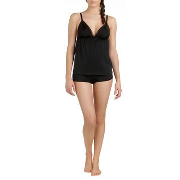 Shorty de pyjama noir Femme-DIM