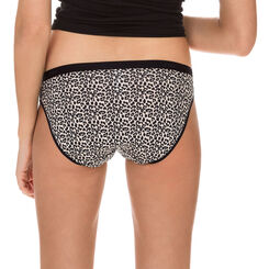 Lot de 3 slips imprimé safari en coton Les Pockets-DIM
