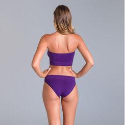 Soutien-gorge bandeau collection 60 ans violet nocturne-DIM