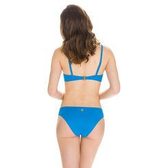 Haut de maillot de bain à armatures turquoise Femme-DIM