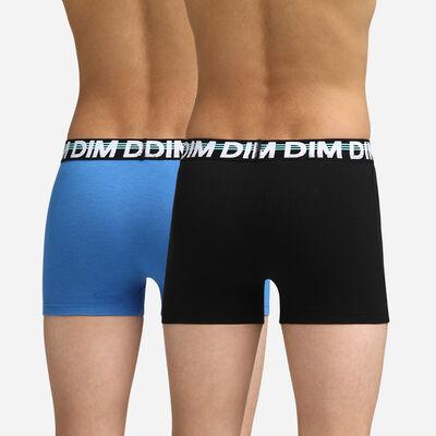 Boxers noir et bleu roi pour garçon Dim Boy, , DIM