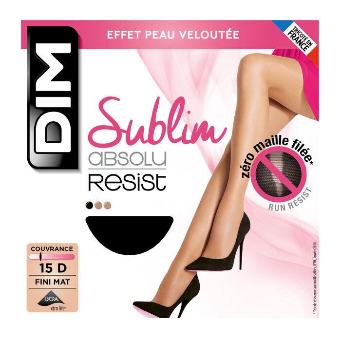 Lot de 2 collants noir Sublim Absolu® Resist 15D, , DIM