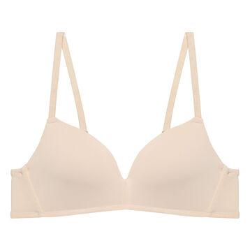 Soutien-gorge triangle Nude à coques pour fille Dim Invisible, , DIM