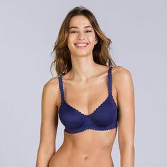 Soutien-gorge à armatures bleu indigo Body Touch, , DIM