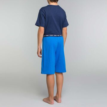 Pyjama garçon 2 pièces bleu électrique - Break the rules, , DIM