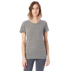 T-shirt Eco-Jersey™ gris à manches courtes Femme-DIM