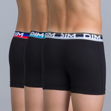 Lot de 3 boxers noirs Eco DIM Boy-DIM