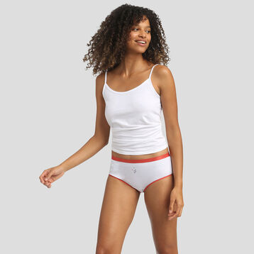 Lot de 3 boxers imprimé côte d'azur Les Pockets Coton Stretch de Dim, , DIM