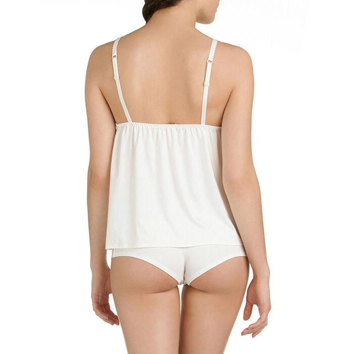 Caraco de pyjama nacre Femme-DIM