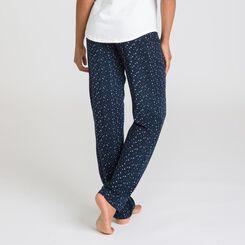 Pantalon de nuit noir Soft & Cool-DIM