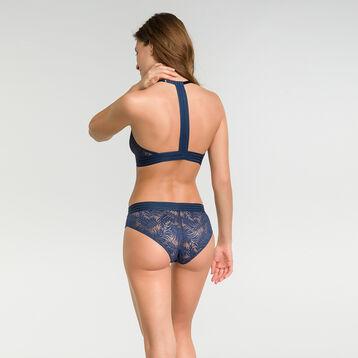 Soutien-gorge triangle sans armatures dentelle bleu nuit - MOD de Dim, , DIM
