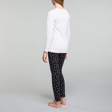 Pyjama fille 2 pièces pantalon imprimés oiseaux - Nuit Birds, , DIM
