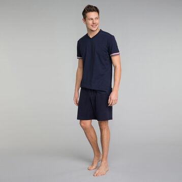 Short pyjama bleu marine - Mix and Match, , DIM