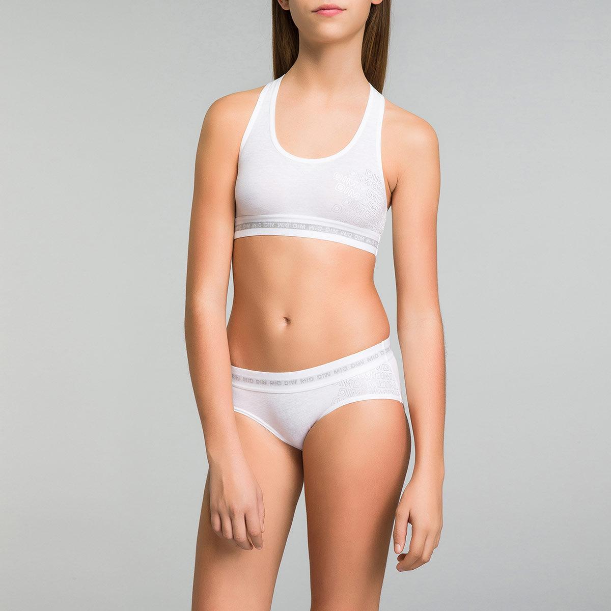 Shorty blanc Dim Sport DIM GIRL
