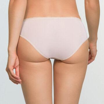 Culotte Beige Léger en dentelle et microfibre Daily Glam Trendy Sexy, , DIM