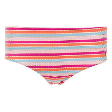 Bas de maillot de bain shorty rayures multicolores Femme-DIM