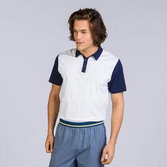 T-shirt à manches courtes blanc Night Signature Homme-DIM