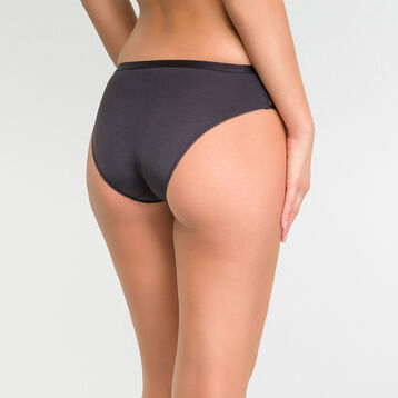 Culotte femme dentelle noire - Dim Daily Glam Trendy Sexy, , DIM