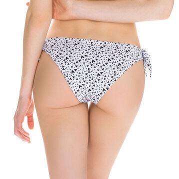 Bas de maillot de bain réversible culotte à nouer Femme-DIM