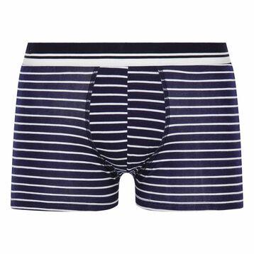 Boxer à rayures bleu - Summer SEA DIM, , DIM