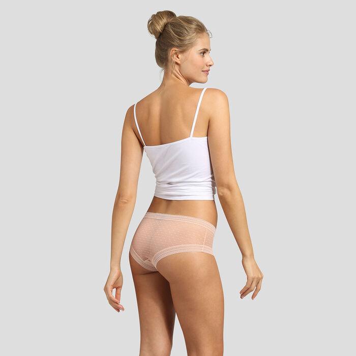 Lot de 2 shortys skin rose Sexy Transparency de Dim, , DIM