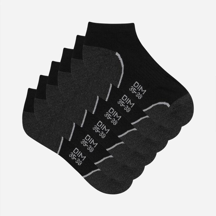 Lot de 3 paires de socquettes courtes impact léger femme - Dim Sport, , DIM