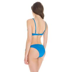 Haut de maillot de bain crochet à armatures turquoise Femme-DIM