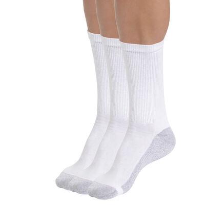 Lot de 6 chaussettes de sport blanches EcoDIM Homme, , DIM